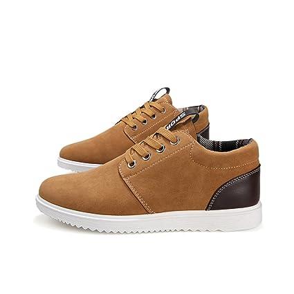b4a20d39 LnLyin - zapatos modernos para Hombre en Caqui, PU, caqui, 41 ...