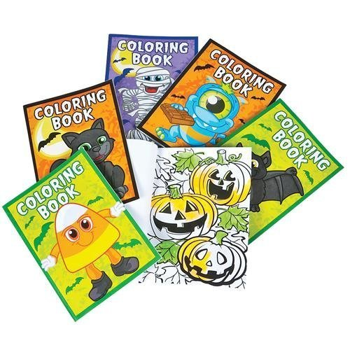Halloween Coloring Books Pack of (Halloween Cute Zombie Makeup)