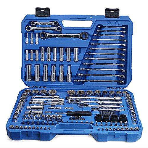 Valianto Auto Mechanics Repair Tool Kit, 150 Pcs by Valianto