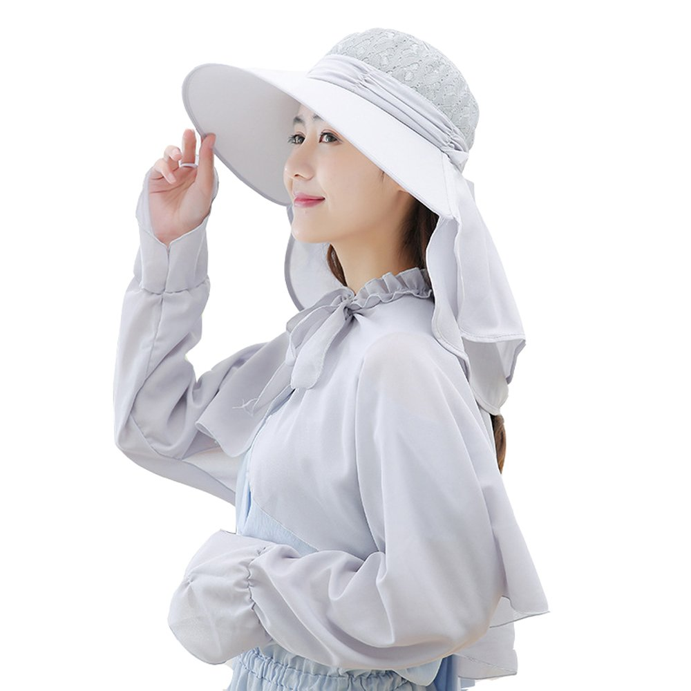 Shawl Hat summer outdoor sunscreen sun hat neck cap UV protection suit
