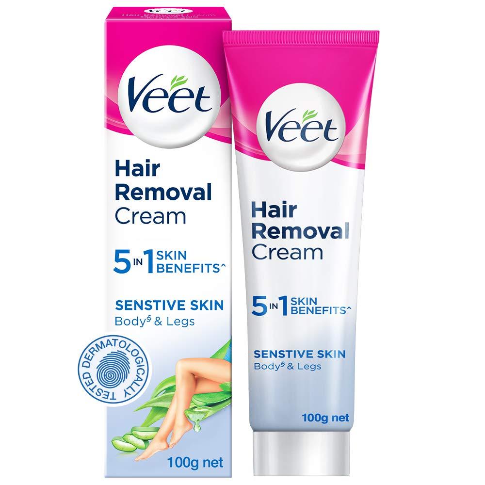 Buy Veet Silk Fresh Hair Removal Cream Sensitive Skin 100 G