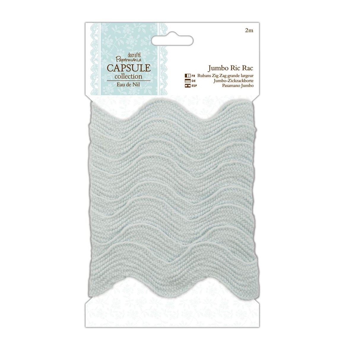 DOCrafts Papermania Eau De Nil Jumbo RIC Rack, 1-Inch by 2mm PM358207