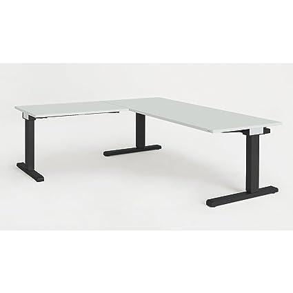 Mauser escritorio, verkettet - BXT 1800 x 800 mm, ángulo de ...