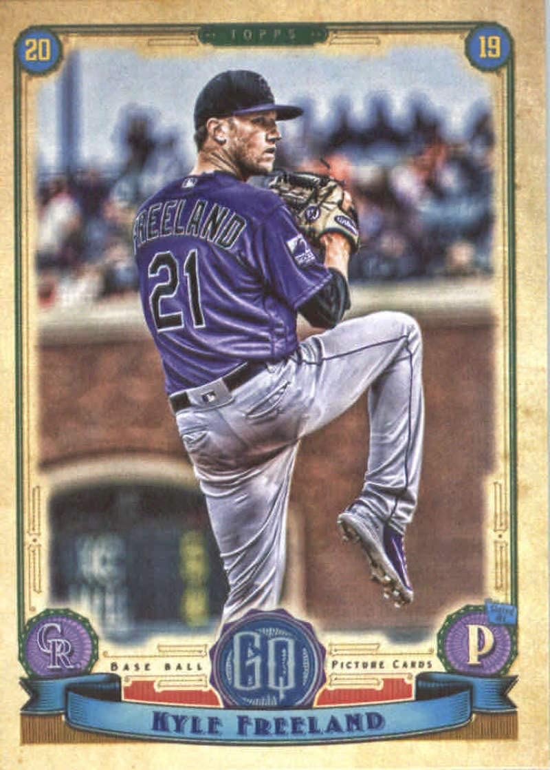 2019 Topps Stadium Club Base #271 Kyle Freeland