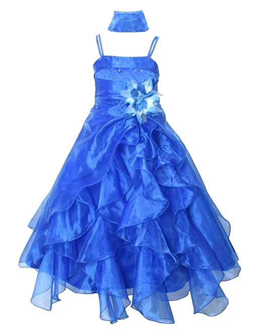 676ae2efa140 go2victoria Organza vestito da sera vestito da bambini vestito da damigella  11-12 anni