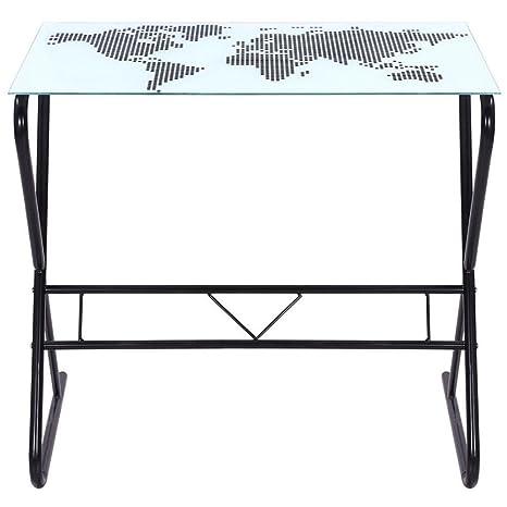 Mesa Antigua genérica con Mesa Plegable para Ordenador portátil, Escritorio de Estudio, diseño de