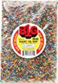 Darice Silver Lined Glass Seed Beads, 1 lb., Multicolor from Darice