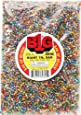 Darice Silver Lined Glass Seed Beads, 1 lb., Multicolor