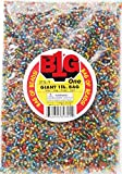 Darice Silver Lined Glass Seed Beads, 1 lb, Multicolor