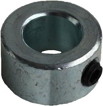 25mm x 5 St/ück Stellring mit Gewindestift Edelstahl V2A Din705 A1 f/ür Welle