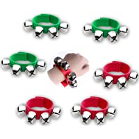 Tasty Life Band Wrist Bells Bracelets Jingle Musical Tokle Bells Rhythm Toys Instrument Percussion Party Favors For…