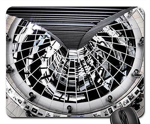 Mouse Pads - Berlin Reichstag Dome Building Glass Dome