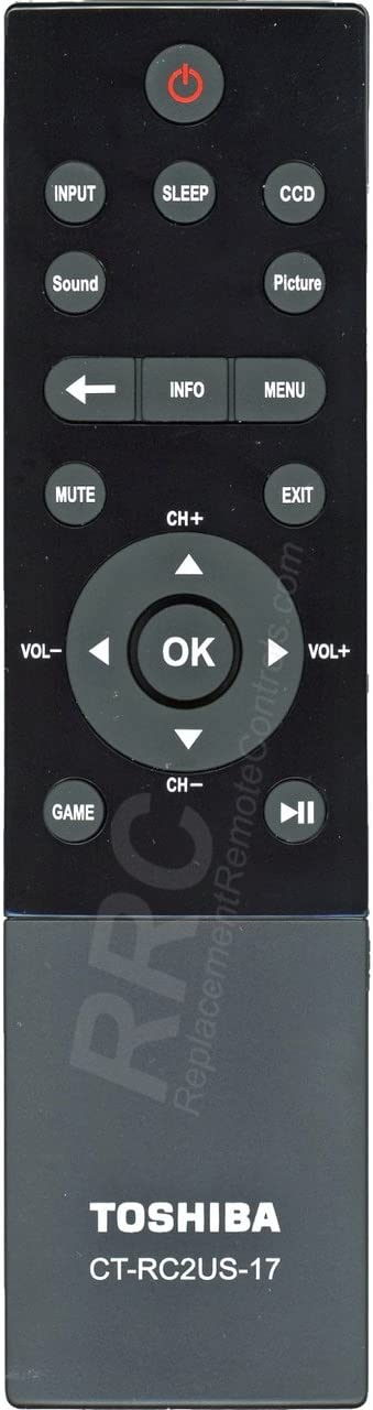New Original Remote Control CT-RC2US-17 For TOSHIBA TV 32L221U,43L621U,49L621U