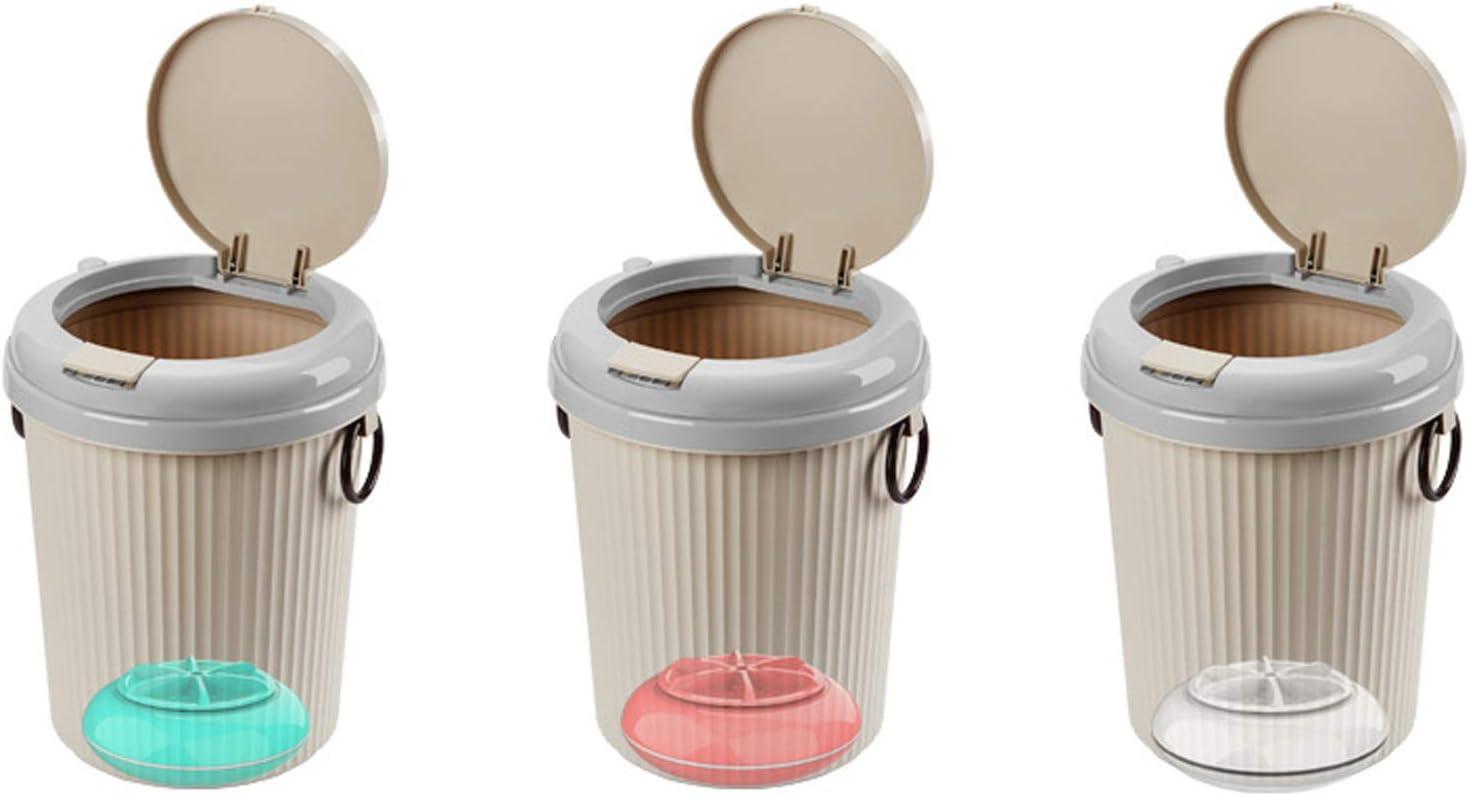 HHYHOME Mini Portátil Lavadora La Ropa del Bebé Compacto De Lavandería, Turbo Lavadora Lavadora, para RV, Campings, Apartamentos, Residencias,E (3 pcs)
