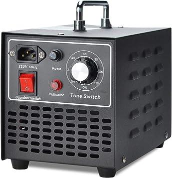 COVVY Generador de ozono comercial, máquina de ozono móvil ...