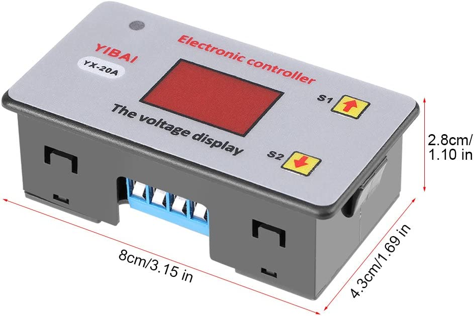 12V Undervoltage Low Voltage Cut Off Automatic Switch Recovery Protection Controller Module Zyyini Low Voltage Controller