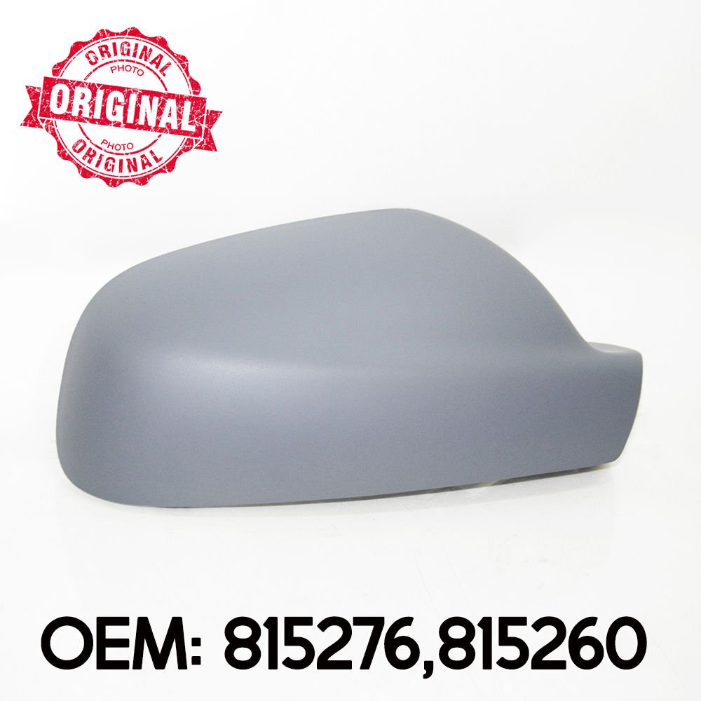 C/ôt/é droit Coque de r/étroviseur avec capuchon en Assurera OEM 815276/815260
