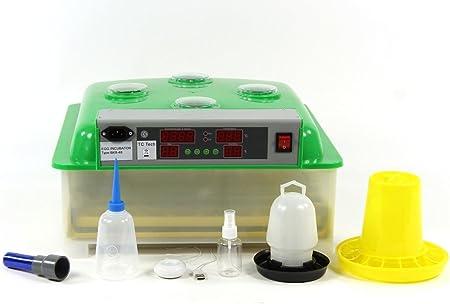 Qubeat Incubadora BK48ProActive humidificador Activo + Bebedero y ...