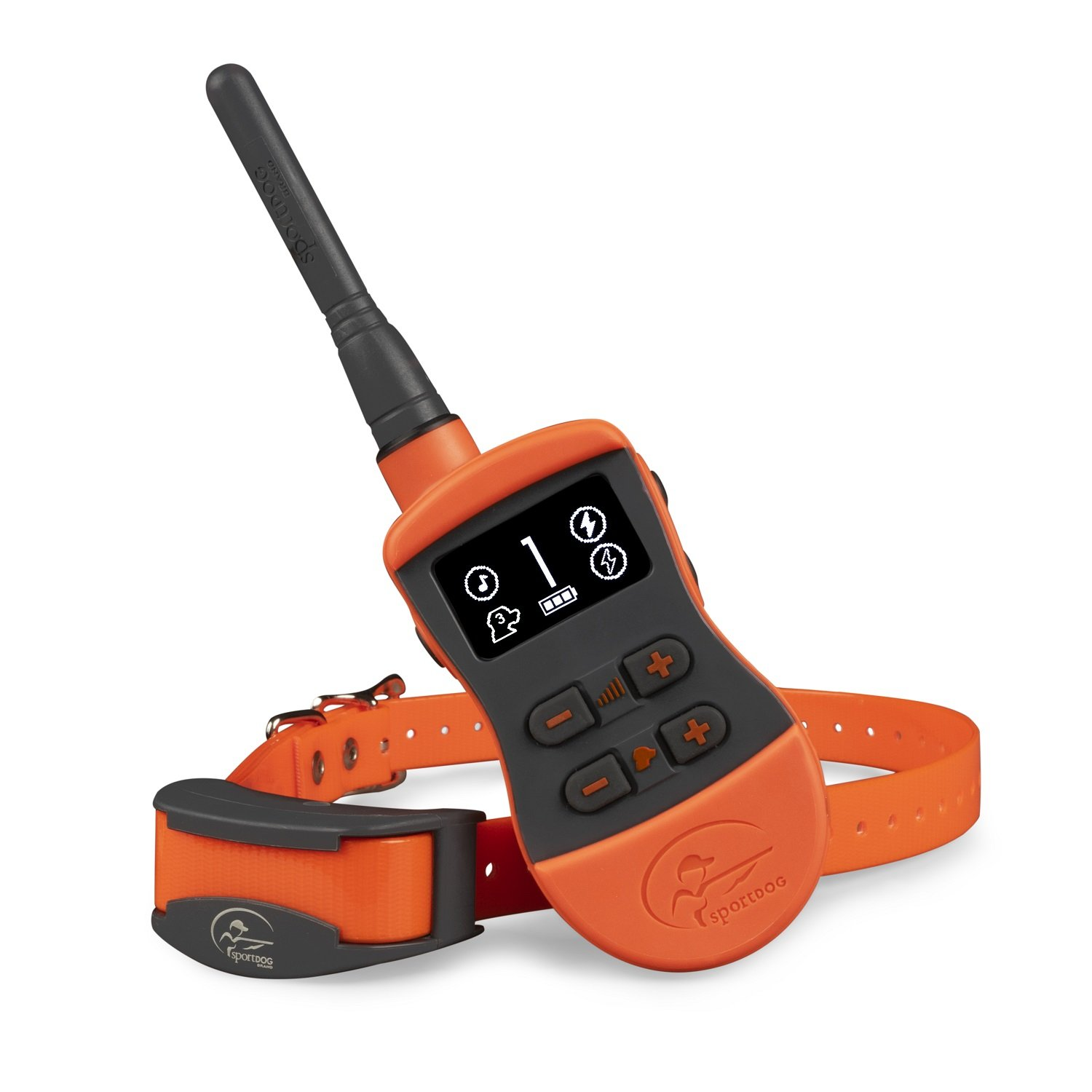 SportDOG Brand SportTrainer Remote Trainers - Bright, Easy to Read OLED Screen - Up to 3/4 Mile Range - Waterproof, Rechargeable Dog Training Collar with Tone, Vibration, and Shock