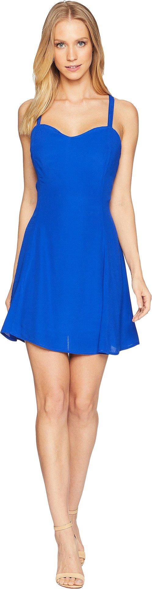 Lucy Love Women's The Rachel Slip Dress Royal Blue Small
