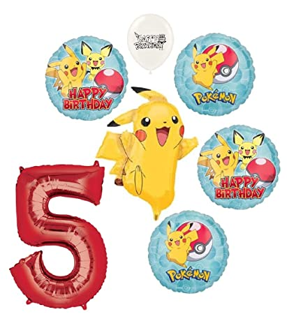 Amazon.com: The Ultimate Pikachu - Ramo de globos para ...