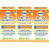Raw Probiotics Ultimate Care-100 Billion Garden of Life 30 VCaps (30 x 3 )