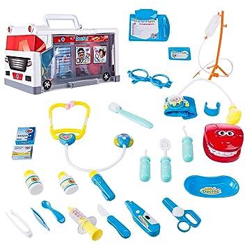 Doktorkoffer Arztkoffer Kinder Arzt Rollenspiele Doktor Arzttasche Spielzeug