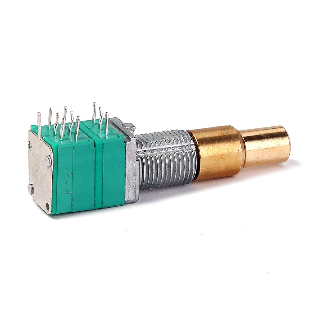 Potenciómetro W / Interruptor Giratorio Estriado del Eje para Guitarra - #3: Amazon.es: Instrumentos musicales
