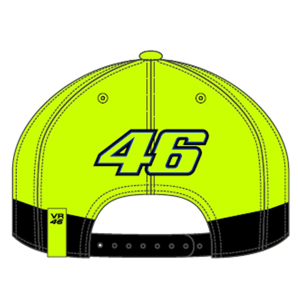 Valentino Rossi VR46 Moto GP The Doctor Negro /& Amarillo Gorra Oficial 2018