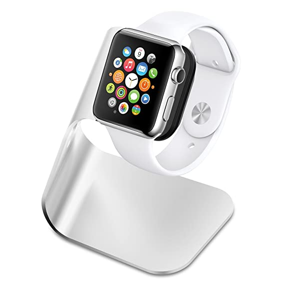 948a514d2d8 Spigen S330 Designed for Apple Watch Stand with Aluminum Body for Apple  Watch Series 4
