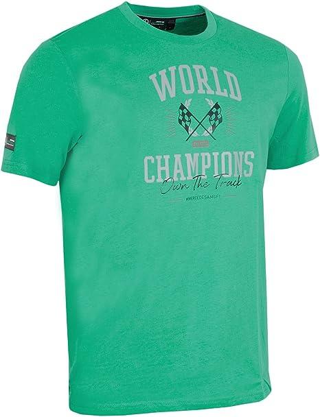 Mercedes AMG Petronas F1 Team - Camiseta para hombre, color verde, Hombre, verde, large: Amazon.es: Deportes y aire libre