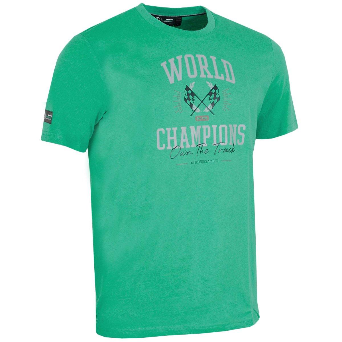 Mercedes AMG Petronas F1 Team - Camiseta para Hombre, Color Verde ...