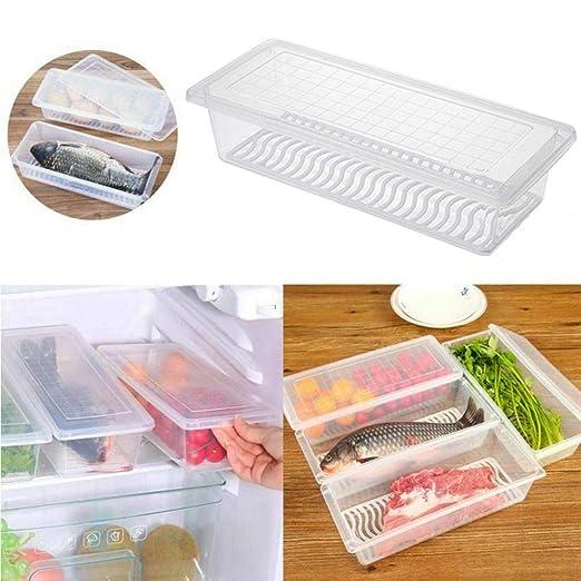 Contenedores de almacenamiento de alimentos Womdee, organizador de ...