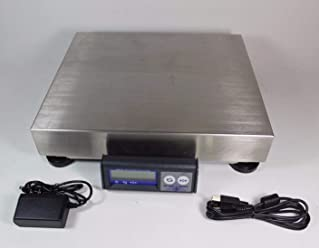 Mettler Toledo PS60 USB Shipping Parcel Scale 150lb x 0.05lb (Stainless steel) (