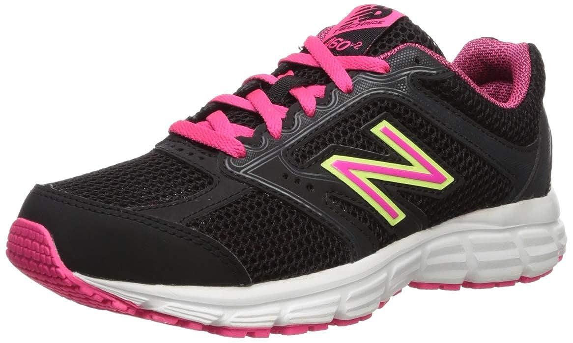 Noir (noir rose) New Balance W460v2, Running Femme 41 EU
