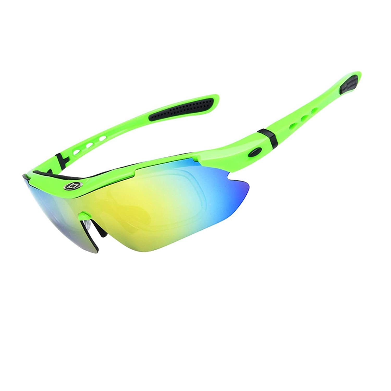 Green Sport Sunglasses Polarized Outdoor Polarized Myopia Sunglasses Riding Glasses for Women -AdiSaer