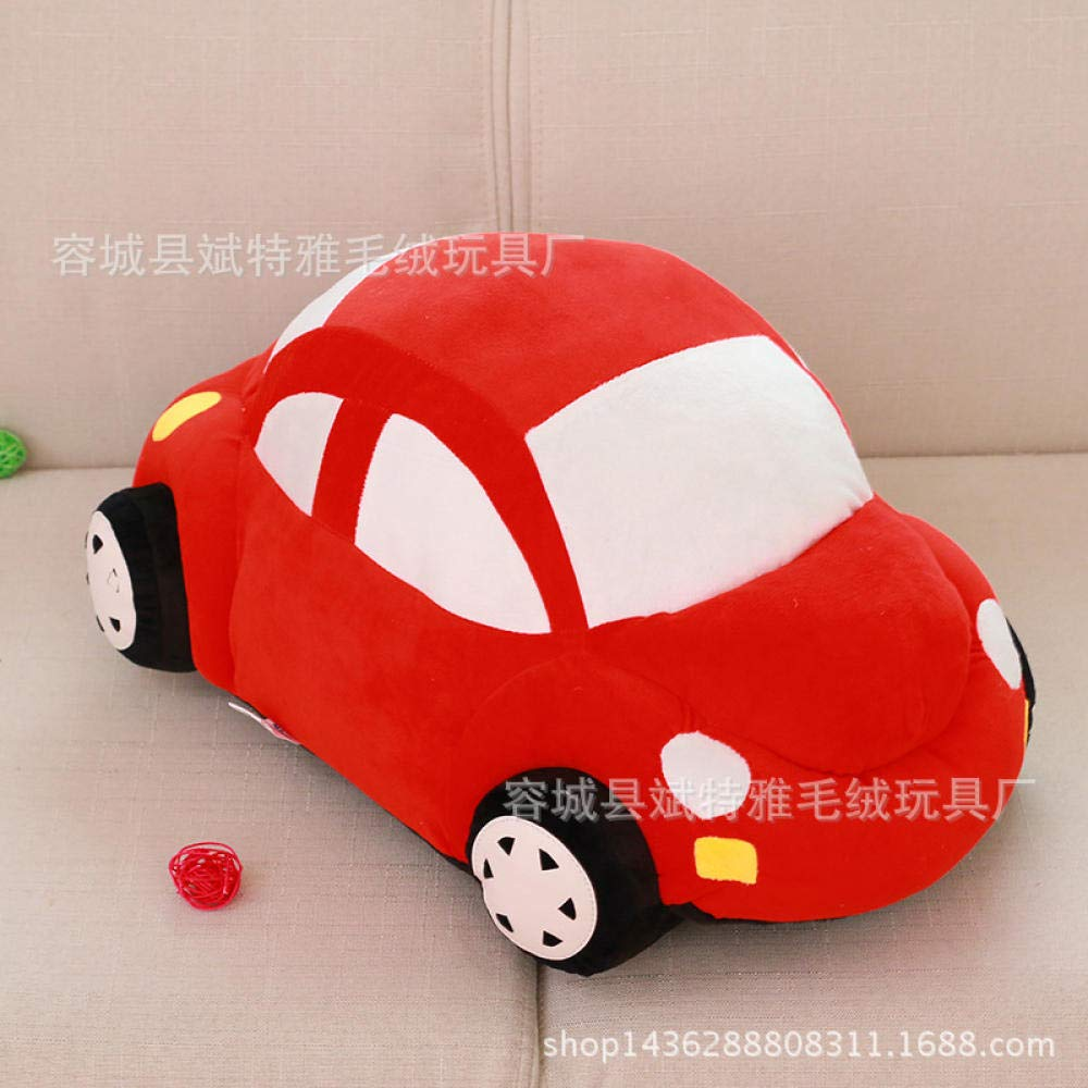 NIANMEI Plush Toy voiture Doll Plush Toy Gift Beetle Creative@rouge_1.5 M