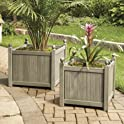Better Homes and Gardens Camrose Farmhouse Outdoor Planter