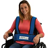 Sammons Preston 50599 Adult Foam Torso Support, Wheelchair Straps Hold User Upright to Posture Alignment, Adjustable Chest &
