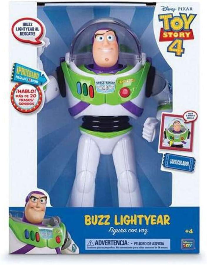 Figura con voz Toy Story Buzz Lightyear por sólo 19,99€ ¡¡64% de descuento!!