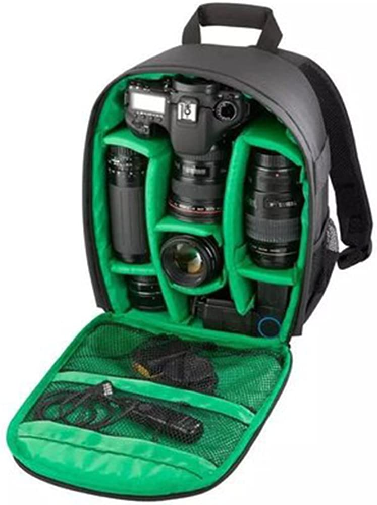 Camera Case Backpack Absorber Compact System Water Resistance Antitheft Anti-Scratch For Cameras and Accessorie