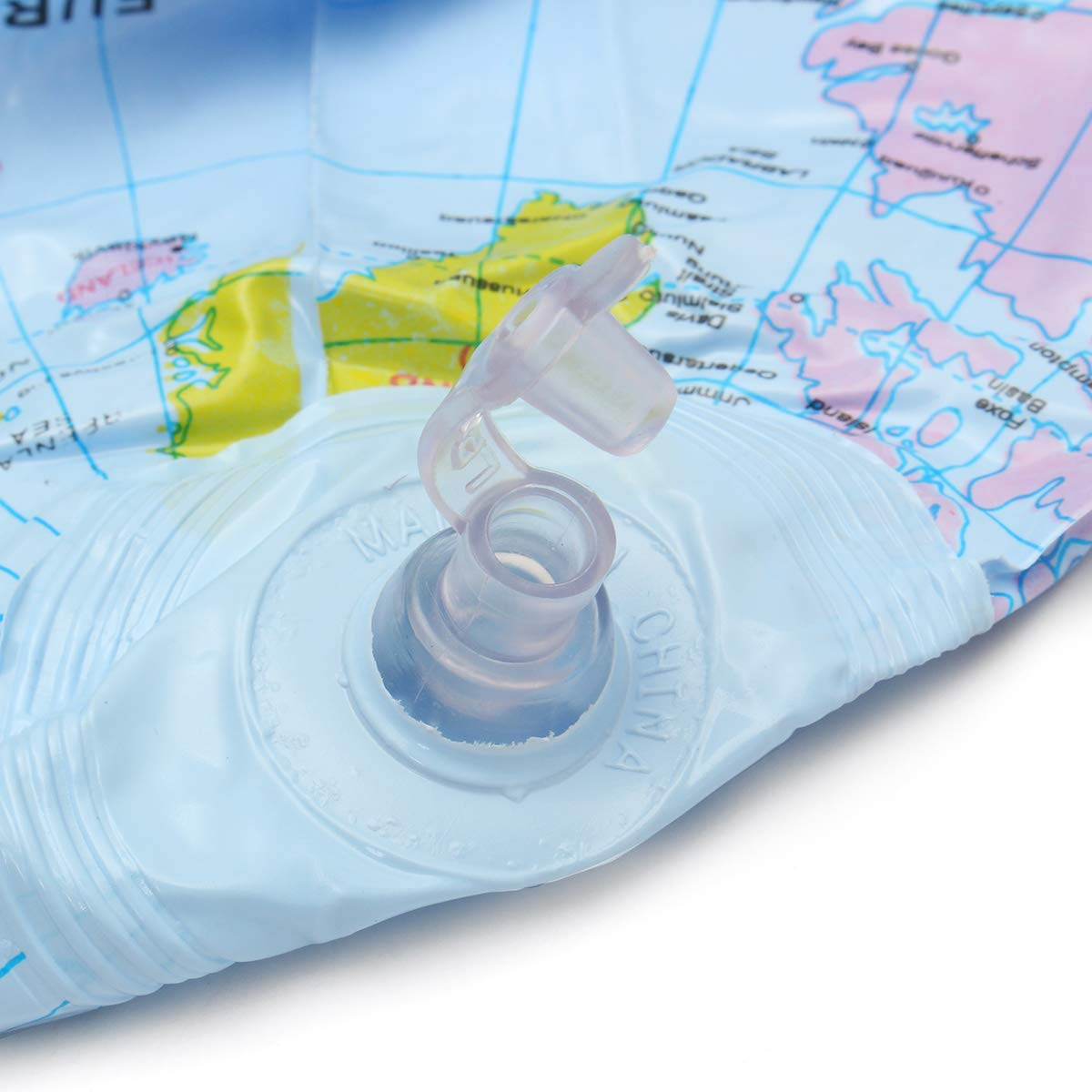 30 cm Globo Inflable Mundo Tierra Mapa del Océano Bola Geografía ...