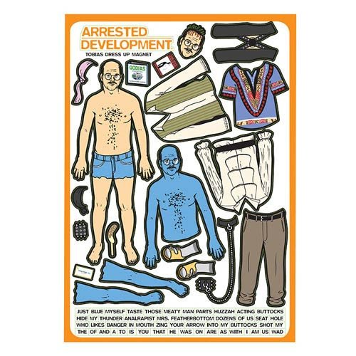 Arrested Development - Tobias Funke Dress Up Magnet Set