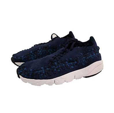 32e698616 Nike AIR Footscape Woven NM Chaussures pour Hommes en Tissu Bleu ...