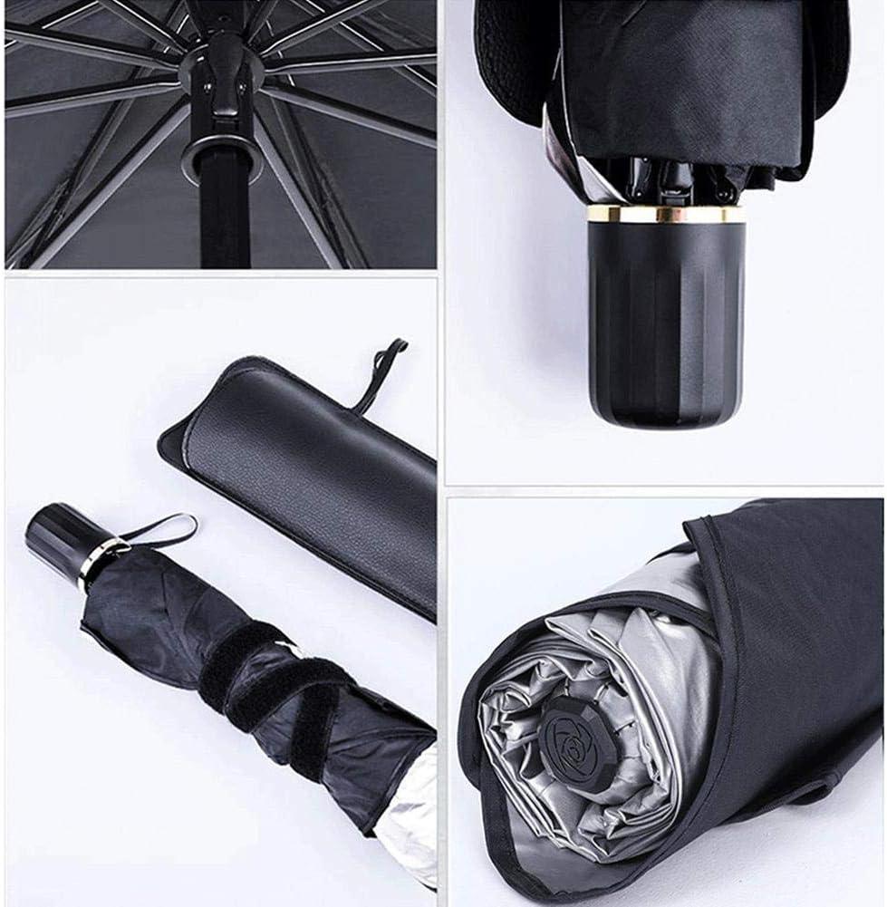 Rvest Parasole per Parabrezza Parasole per La Parabrezza Anteriore,Ombrellone per Auto Ombrello Pieghevole Conveniente-Parabrezza Automatico Blocco UV Visiera Parasole