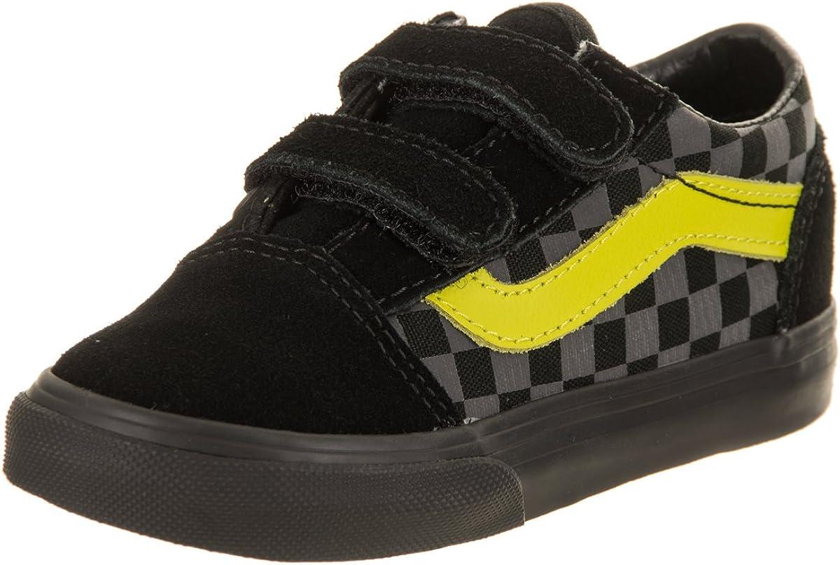 Vans garçon Tout Petits Old Skool (Checkerboard) Skate Shoe