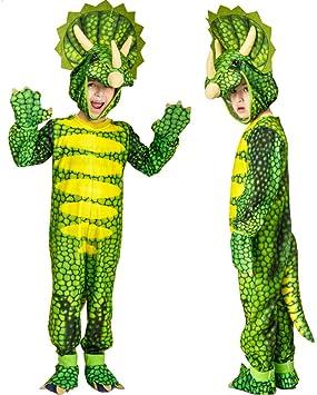 CHANGL Disfraz de Mono Triceratops para niños Disfraz de Cosplay ...