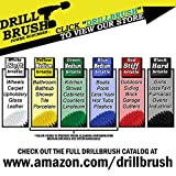 Motorcycle Accessories - Soft White Drill Brush Kit with Extension - Car Wash - Cleaning Supplies - Automotive Tire, Wheel - Boat Seat, Carpet, Interior, Upholstery, Vinyl, Fabric, Leather Cleaner