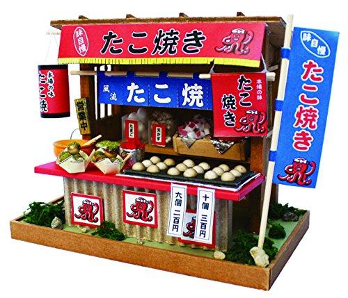 Billy Takoyaki shop doll house handcraft kit (Japan -