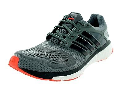 Adidas Mens Energy Boost Esm Vista Grey Dark Grey Solr Red Running Shoe 9 86ca5afe66ada